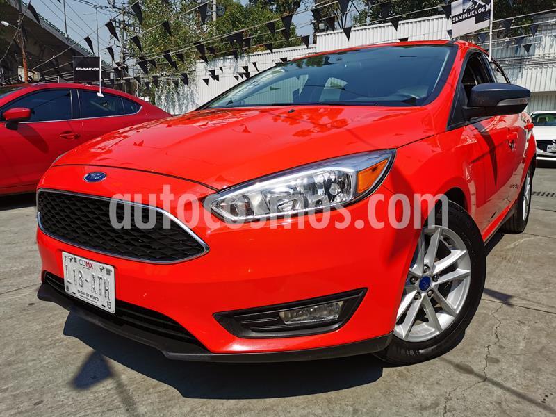 Foto Ford Focus Hatchback SE usado (2017) color Rojo Racing precio $190,000