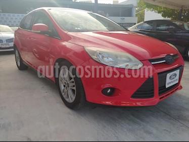 Ford Focus Hatchback SE Aut usado (2014) color Rojo precio $150,000