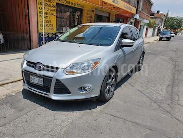 Foto venta Auto usado Ford Focus Hatchback SE Sport Aut (2014) color Plata precio $149,500