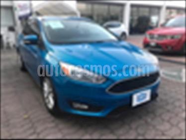 Foto venta Auto usado Ford Focus Hatchback SE (2016) color Azul Electrico precio $229,000