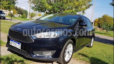 Foto venta Auto usado Ford Focus One 4P Edge 1.6 (2017) color Azul precio $630.000