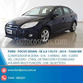 Foto venta Auto usado Ford Focus One 4P Edge 1.6 (2014) color Azul precio $495.000