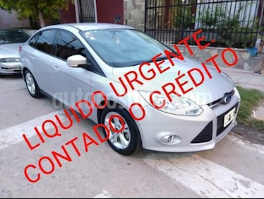 Foto venta Auto usado Ford Focus One 4P Edge 1.6 (2014) color Gris Claro precio $389.000