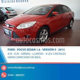Foto venta Auto usado Ford Focus One 5P 1.6 Edge (2013) color Rojo precio $415.000