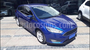 Foto venta Auto usado Ford Focus One 5P 1.6 Edge (2018) color Azul precio $200.000