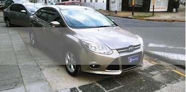 Foto venta Auto usado Ford Focus One 5P 1.6 Edge (2014) color Dorado precio $260.000