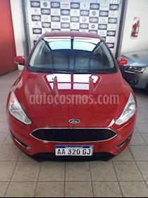 Ford Focus One 5P Edge 1.6 usado (2016) color Rojo precio $800.000