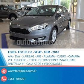 Foto venta Auto usado Ford Focus One 5P Edge 1.6 (2018) color Gris Claro precio $800.000