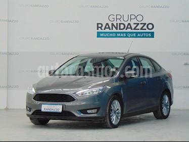 Ford Focus One 4P Edge 1.6 usado (2017) color Gris Oscuro precio $1.107.000
