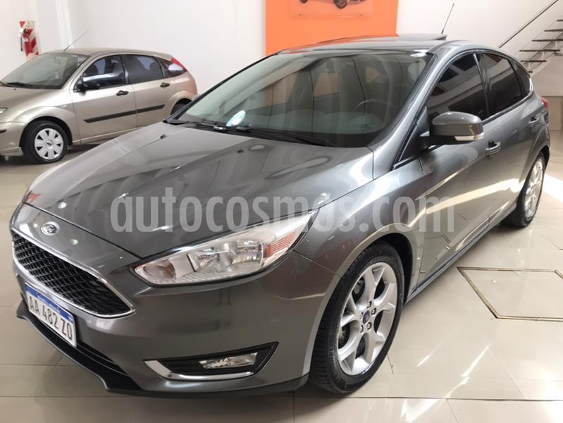 Ford Focus One 5P Edge 1.6 usado (2016) color Gris Oscuro precio $1.170.000