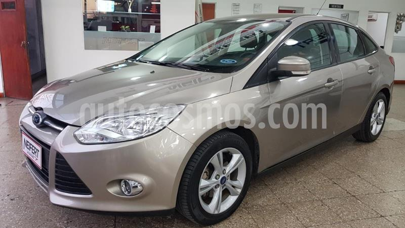 Ford Focus One 4P Edge 1.6 usado (2014) color Beige precio $795.000