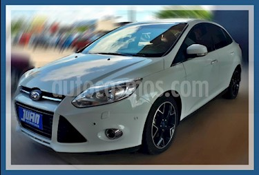 Ford Focus One 4P Ambiente 1.6 usado (2014) color Blanco precio $650.000