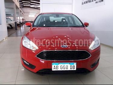 Ford Focus One 5P 1.6 Edge usado (2017) color Rojo precio $580.000