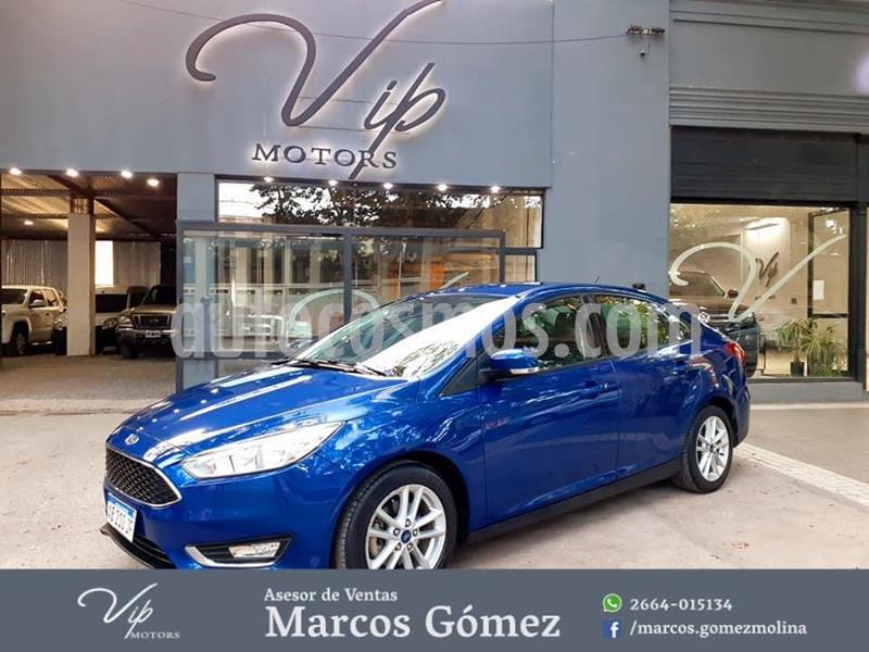 Ford Focus One 4P Edge 1.6 usado (2017) color Azul precio $1.380.000