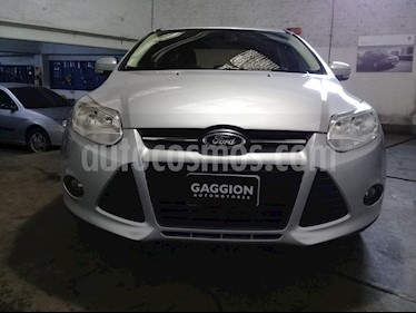 Foto venta Auto usado Ford Focus Sedan 1.6L S (2014) color Gris