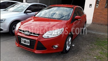 Foto venta Auto usado Ford Focus Sedan 1.6L S (2014) color Rojo Bari precio $495.000