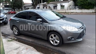 Foto venta Auto usado Ford Focus Sedan 1.6L S (2013) color Gris Mercurio