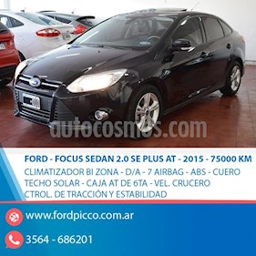 Foto venta Auto usado Ford Focus Sedan 2.0L SE (2015) color Negro