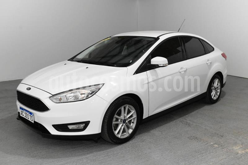 Ford Focus Sedan 1.6L S usado (2018) color Blanco precio $1.200.000
