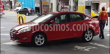 Ford Focus Sedan 2.0L SE Plus usado (2014) color Rojo Bari precio $568.000