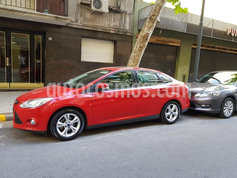 Ford Focus Sedan 2.0L SE Plus usado (2013) color Rojo Bari precio $720.000