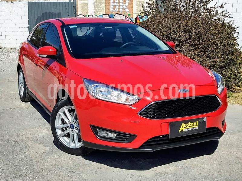 Ford Focus Sedan 1.6L S usado (2016) color Rojo precio $590.000