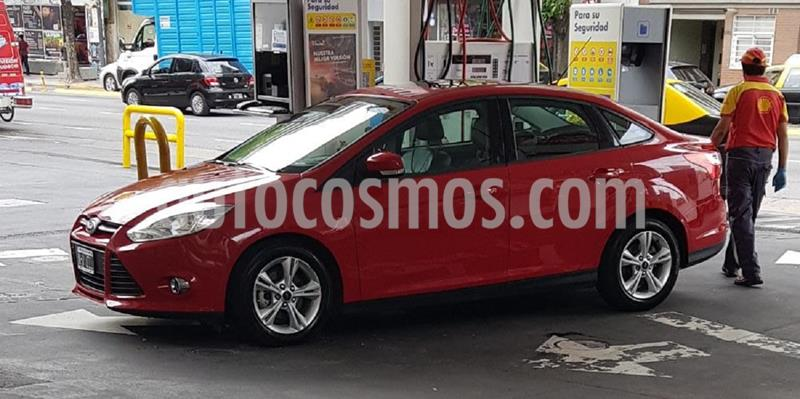 Ford Focus Sedan 2.0L SE Plus usado (2013) color Rojo Bari precio $980.000