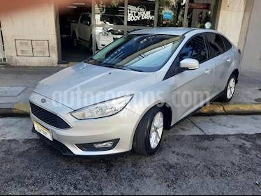 Ford Focus Sedan 1.6 S usado (2018) color Gris precio $720.000