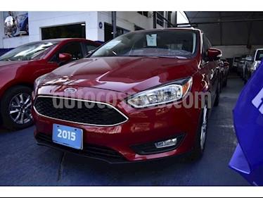 Foto venta Auto Seminuevo Ford Focus 4 PTS. SE, TM5, A/AC., VE, BA, RA (2015) color Rojo precio $180,000