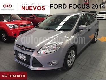 Foto venta Auto usado Ford Focus 4p Ambiente  L4/2.0 Man (2014) color Plata precio $149,000