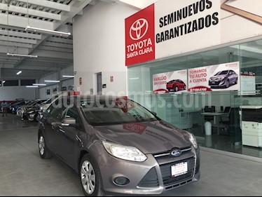 Foto venta Auto usado Ford Focus 4p S L4/2.0 Man (2014) color Gris precio $139,000
