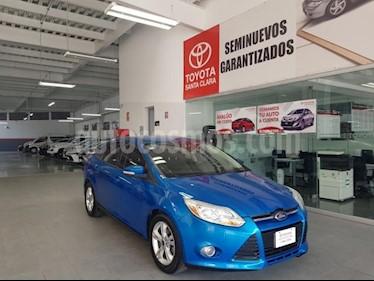 Foto venta Auto usado Ford Focus 4p SE L4/2.0 Aut (2013) color Azul precio $135,000