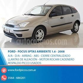 Foto venta Auto usado Ford Focus 5P 1.6L Ambiente  (2008) color Beige precio $205.000