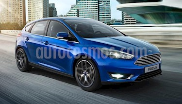 Foto venta Auto usado Ford Focus 5P 1.6L S (2019) color Azul precio $739.000