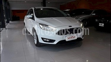 Foto venta Auto usado Ford Focus 5P 1.6L S (2017) color Blanco precio $600.000