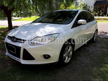 Foto venta Auto usado Ford Focus 5P 1.6L S (2014) color Blanco precio $380.000