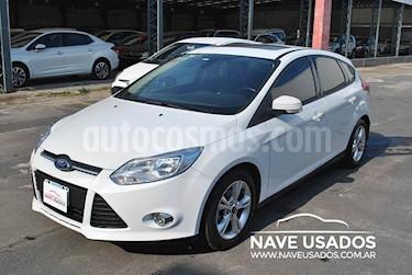 Foto venta Auto usado Ford Focus 5P 2.0 Trend Plus (2014) color Blanco precio $460.000