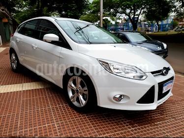 Foto venta Auto usado Ford Focus 5P 2.0L SE Plus (2014) color Blanco precio $439.990
