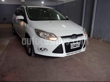 Foto venta Auto usado Ford Focus 5P 2.0L SE Plus (2014) color Blanco precio $440.000