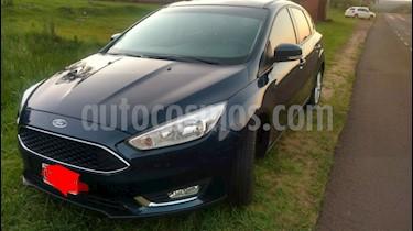 Foto venta Auto usado Ford Focus 5P 2.0L SE (2015) color Azul Monaco precio $450.000