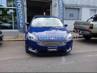 Foto venta Auto usado Ford Focus 5P 2.0L Titanium Aut (2015) color Azul