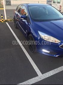 Ford Focus 5P 1.6L S usado (2017) color Azul Monaco precio $825.000