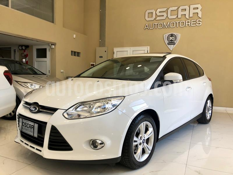 Ford Focus 5P 2.0L SE Plus usado (2014) color Blanco Oxford precio $949.000