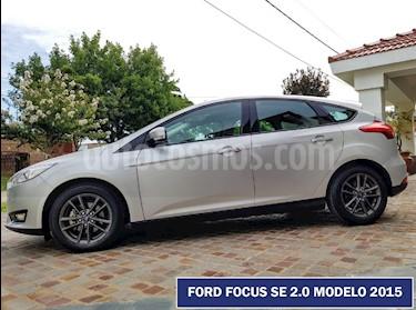 Ford Focus 5P 2.0L SE usado (2015) color Plata Metalizado precio $635.000