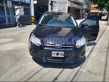 Ford Focus 5P 1.6L S usado (2014) color Negro Perla precio $520.000