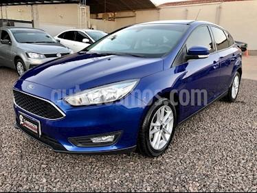 Ford Focus 5P 1.6L S usado (2018) color Azul precio $770.000