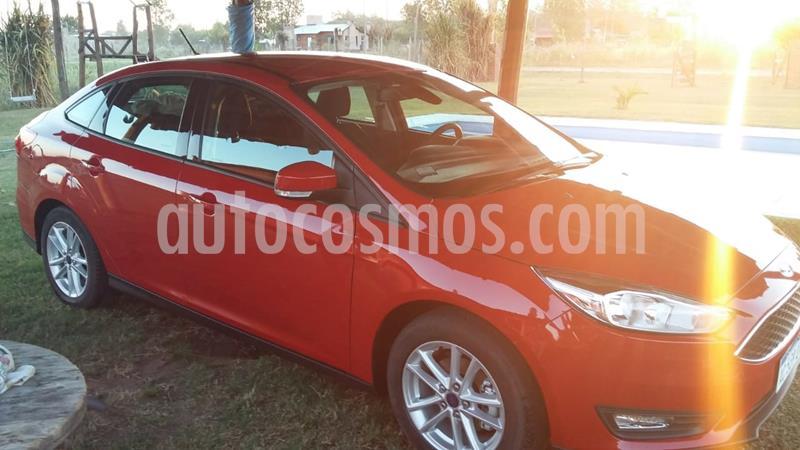 Ford Focus 5P 1.6L S usado (2018) color Rojo Bari precio $1.250.000