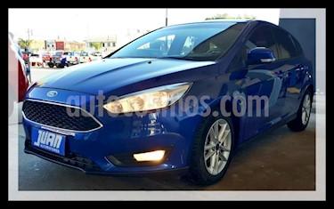 Ford Focus 5P 1.6L S usado (2016) color Azul precio $840.000