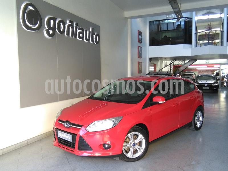 Ford Focus S 1.6 usado (2014) color Rojo precio $870.000