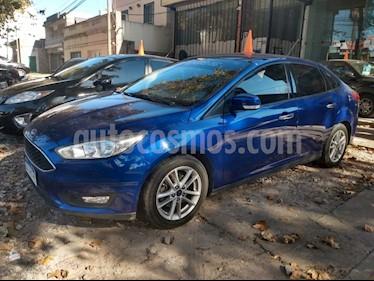 Ford Focus 5P 1.6L Style usado (2016) color Azul precio $790.000